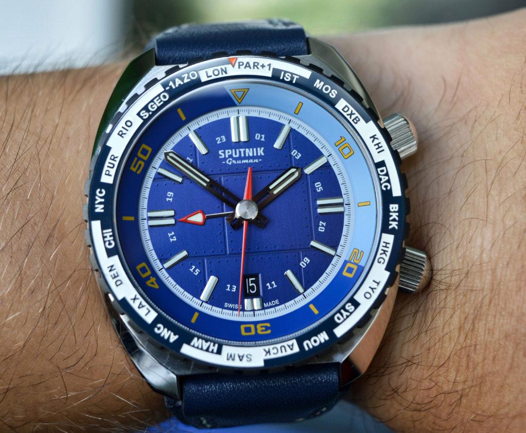 Gruman Sputnik GMT blue