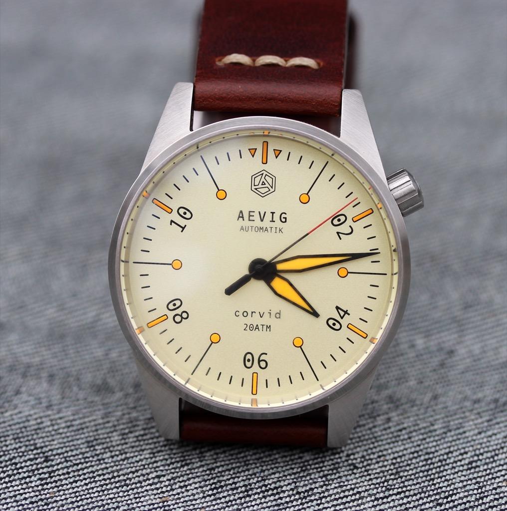 часы Aevig Corvid