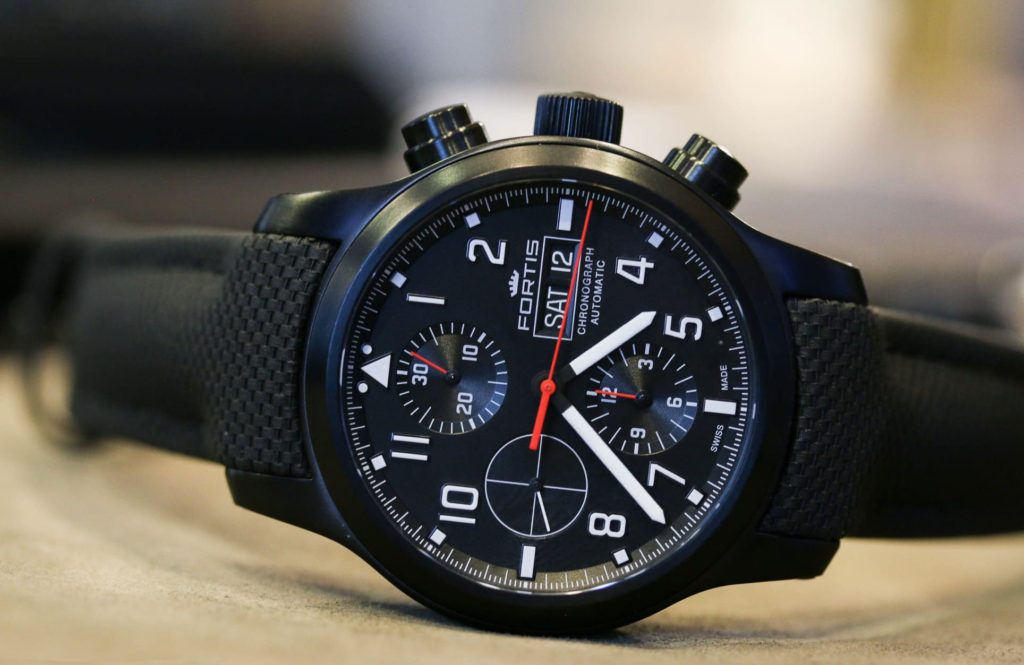 часы Fortis Aeromaster Professional Chronograph