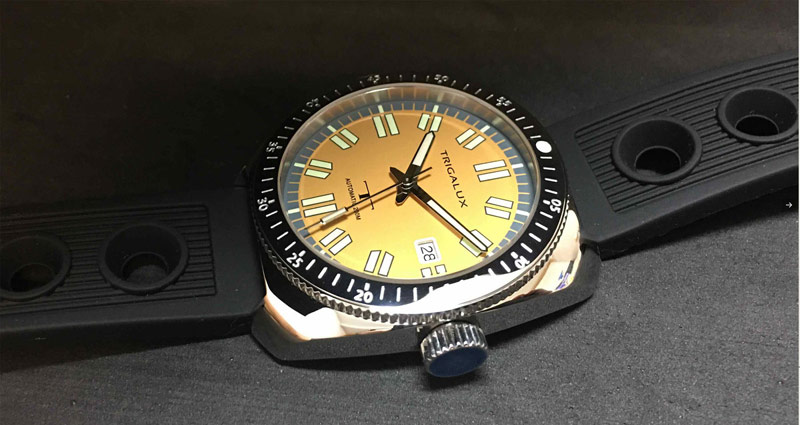 Trigalux T-Diver Yellow