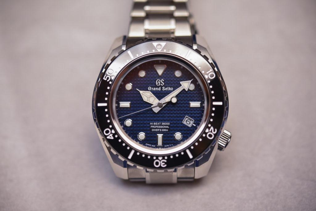часы Grand Seiko Hi-Beat 36000 Professional 600m Diver