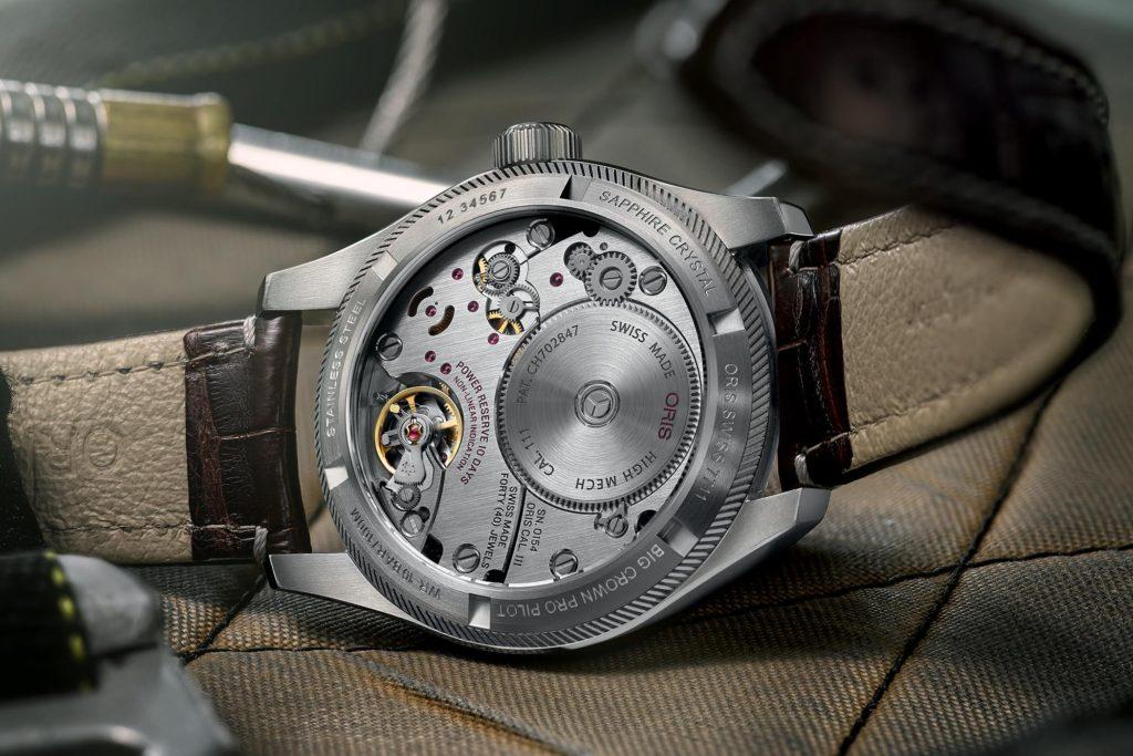 часы Oris Big Crown ProPilot Calibre 111 Blue Dial