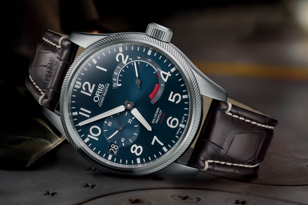 часы Oris Big Crown ProPilot Calibre 111 Blue Dial