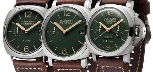 Panerai PAM735 PAM736 PAM737 Green Dial