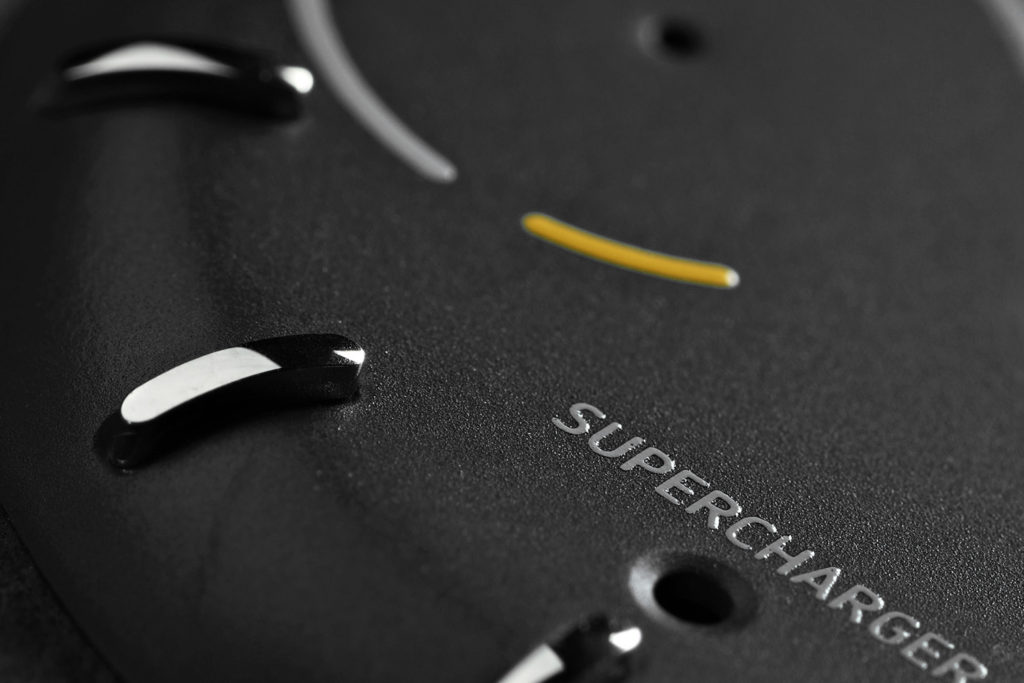 смарт-часы Sequent Supercharger Black Dial