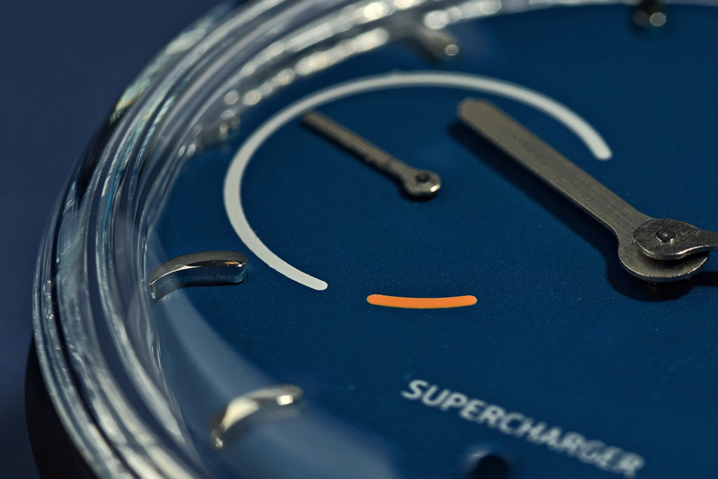 смарт-часы Sequent Supercharger Blue Steel Dial