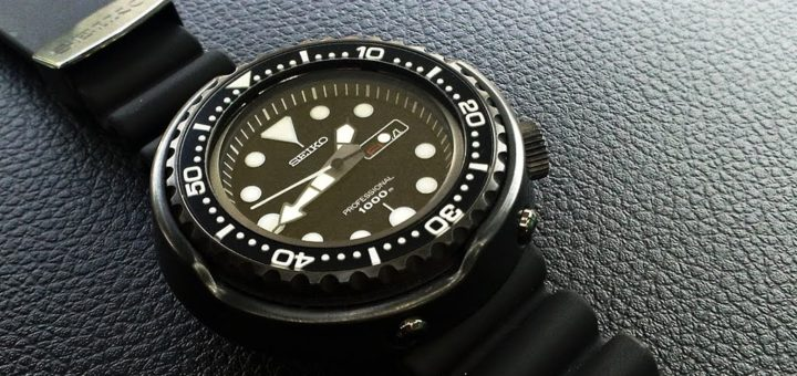 Seiko Darth Tuna SBBN011