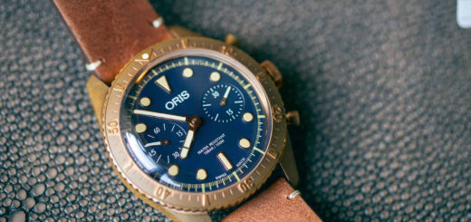 Oris Carl Brasher Chronograph