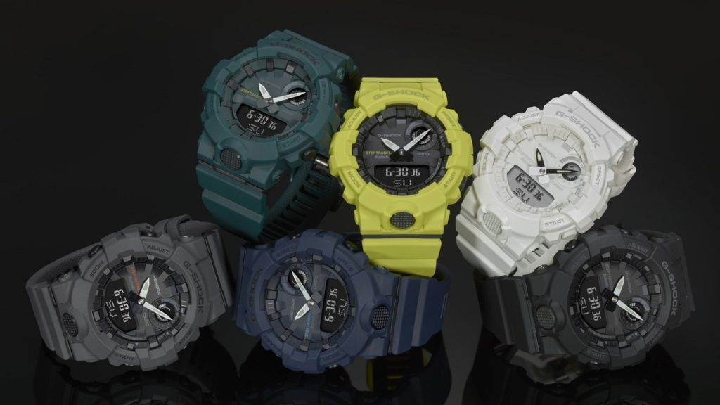 Casio G-Shock GBA-800 Training Timer