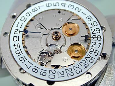 ETA 7750 Календарь
