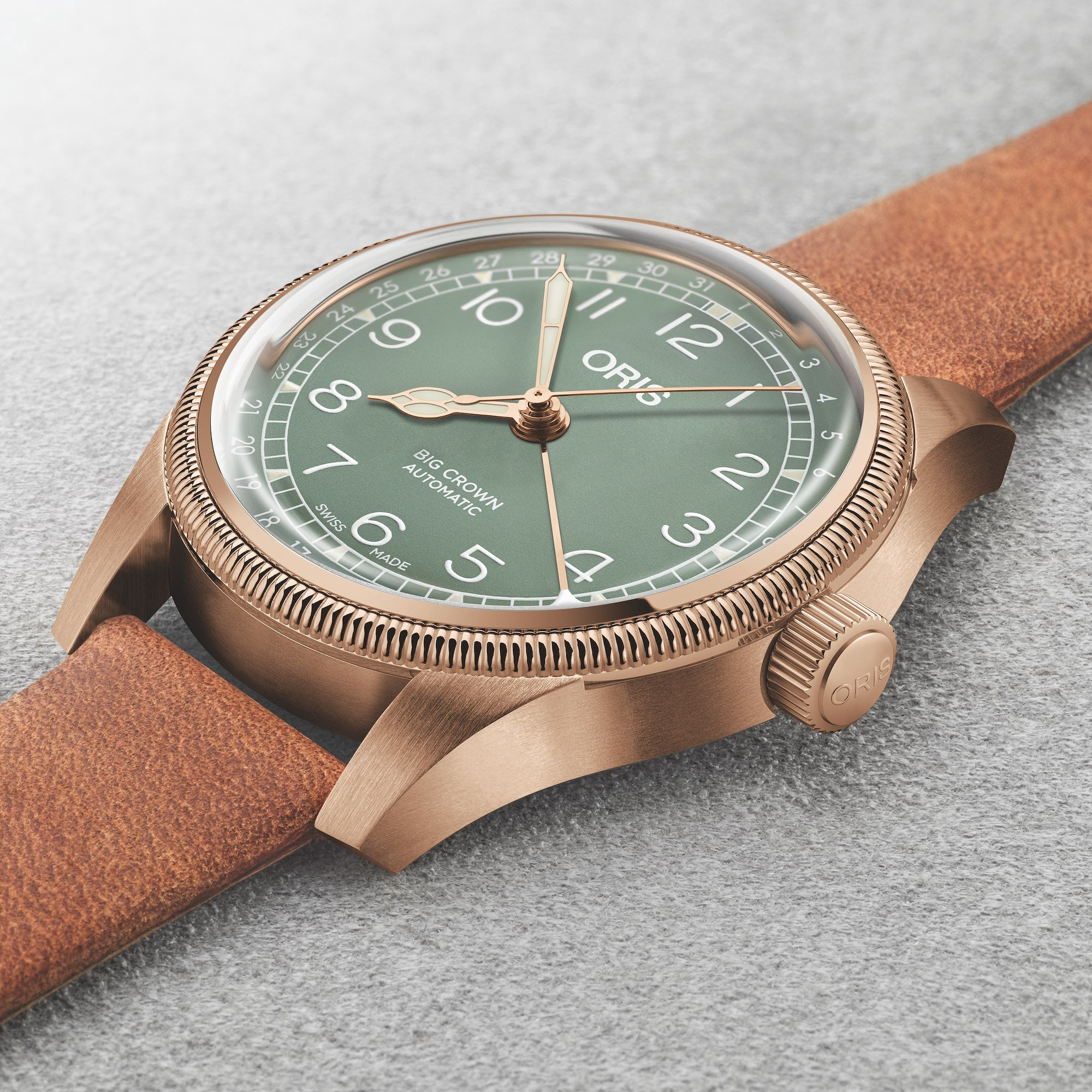 Oris Big Crown Pointer Date Bronze 36mm