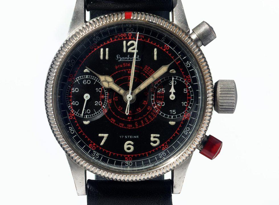 B-Uhr Hanhart 1939 Flieger Chronograph