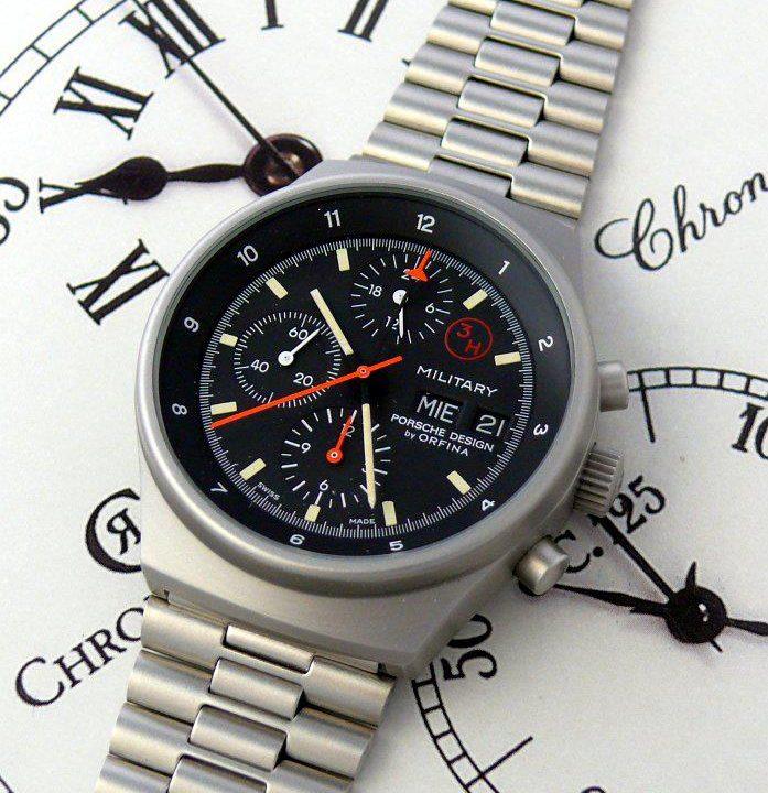B-Uhr Orfina Porsche Design
