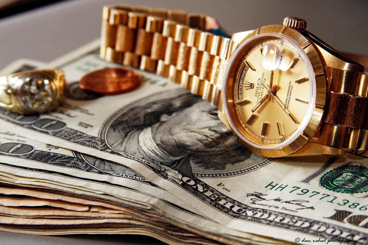 Rolex is Money