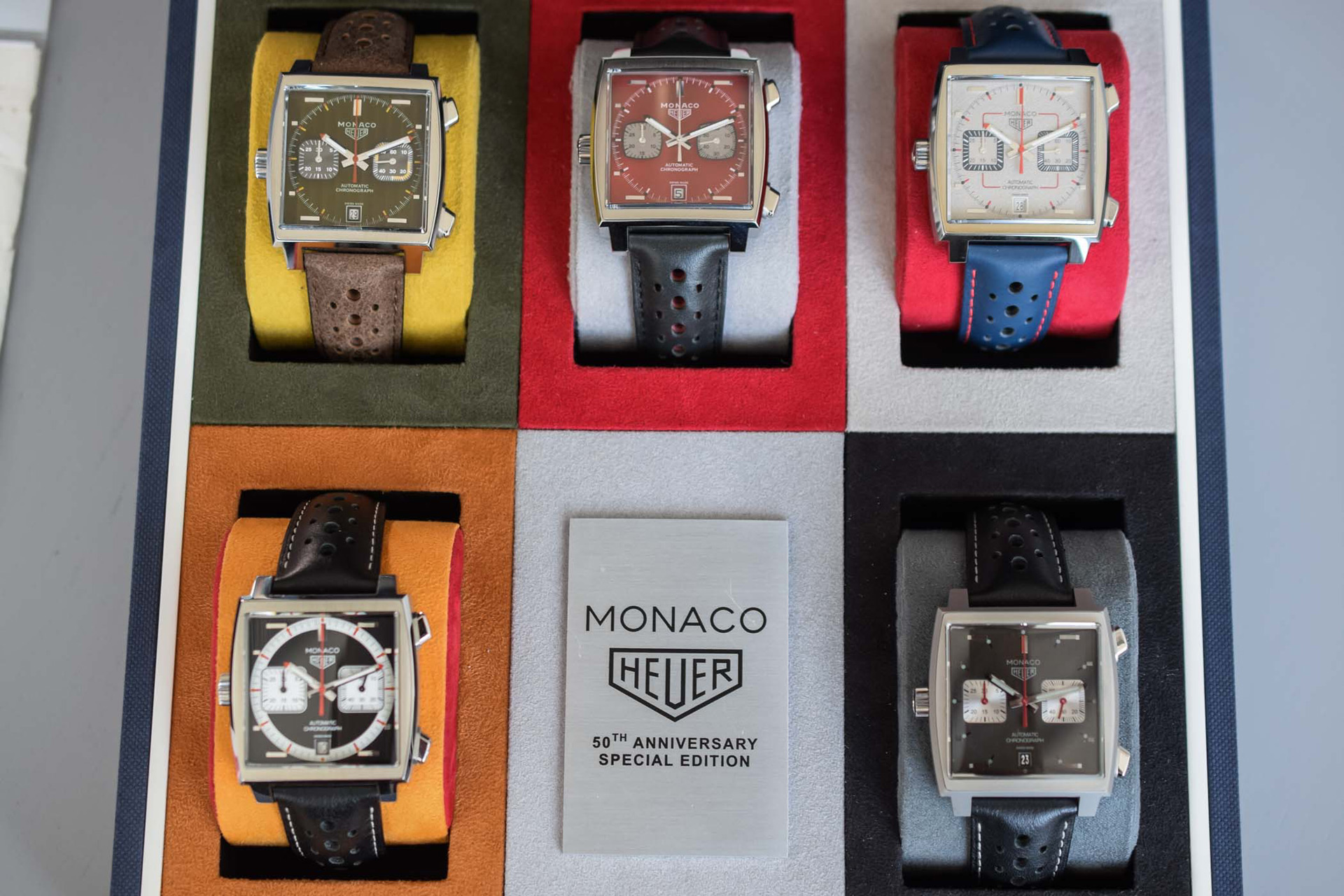 TAG Heuer Monaco 1969-2019 Limited Edition