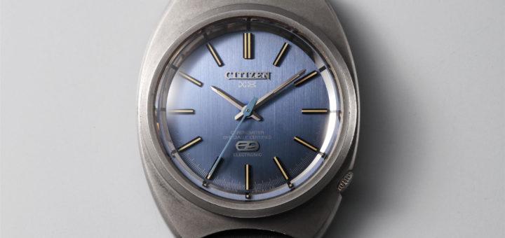 Первые титановые часы Citizen X-8 Chronometer