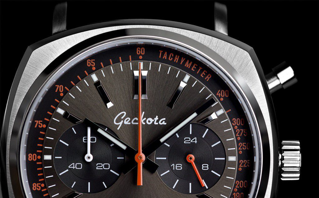 Geckota C1 Racing Chrono dial