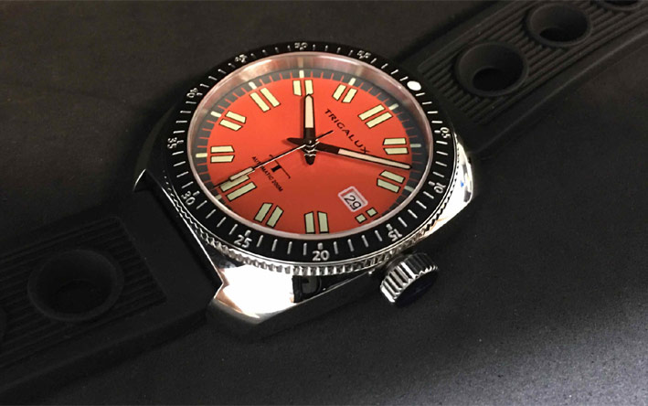 Trigalux T-Diver Red