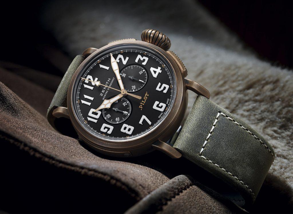Zenith Pilot Type 20 Chronograph Extra Special 45.00 Альтернативное название Zenith Heritage Pilot Extra Special Chronograph