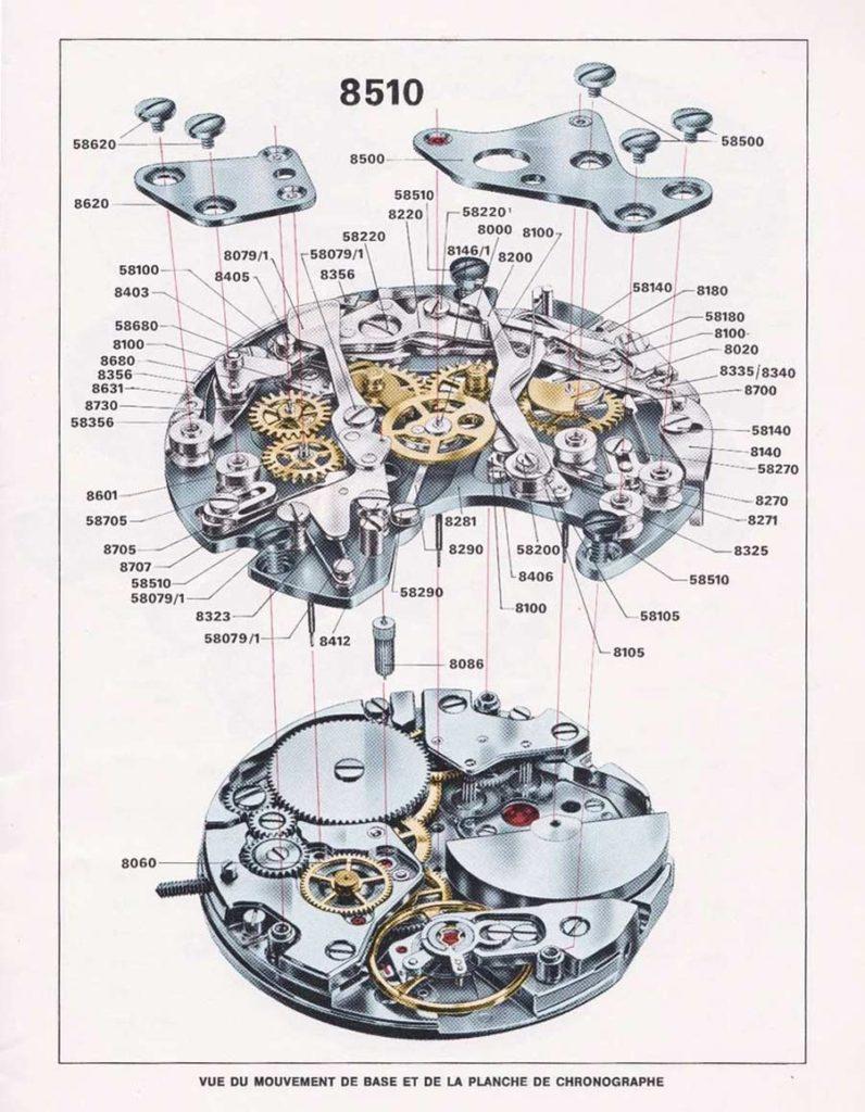 TAG Heuer Calibre 11 1969