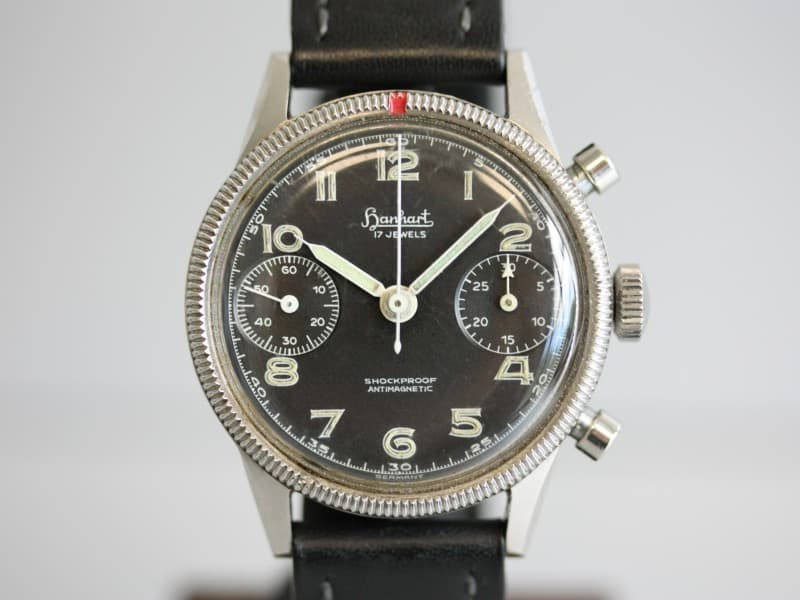Hanhart 417 ES flyback chronograph