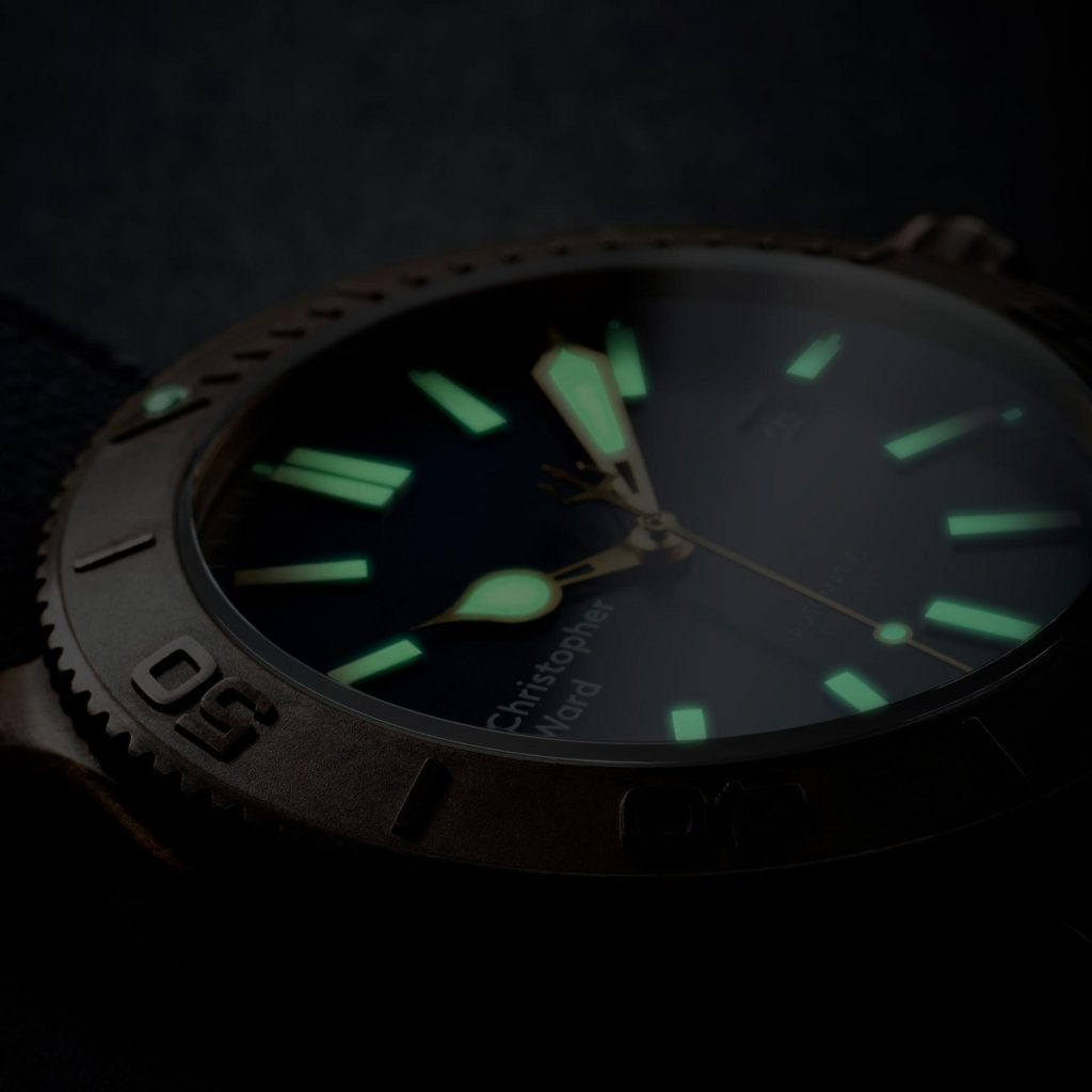 Christopher Ward C60 Trident Bronze Patinated