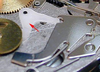 ETA 7750 колесо часового счетчика