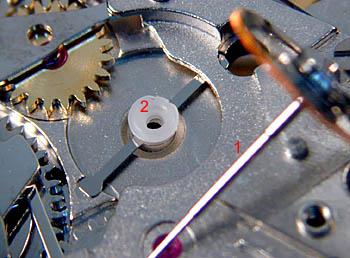 ETA 7750 Зубчатое колесо центрального колеса хронографа