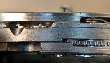 ETA 7750 Конструкция механизма