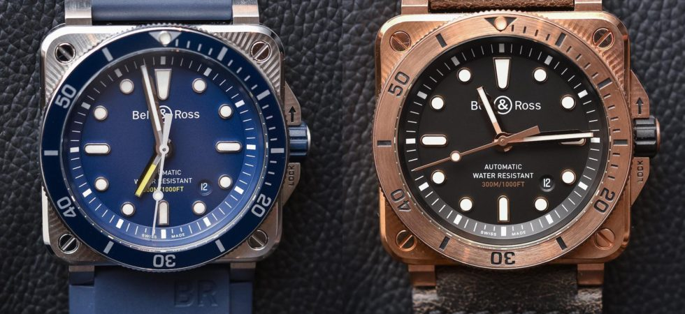Bell and Ross BR03-92 Diver Blue and Bronze