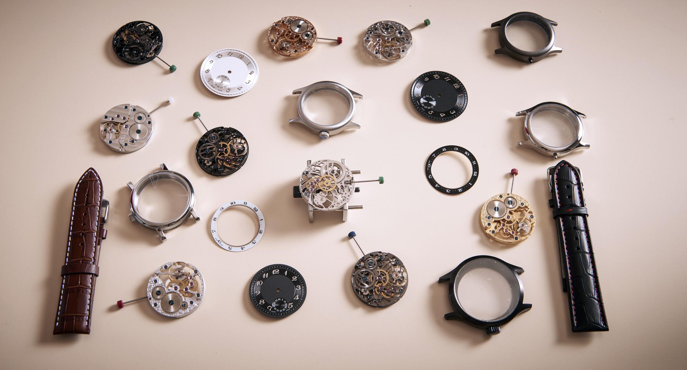 Initium создание собственных уникальных швейцарских часов