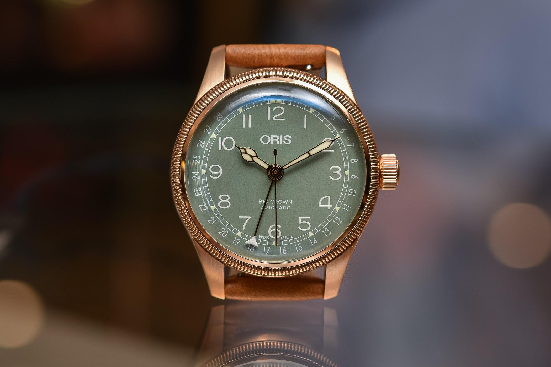 Oris Big Crown Pointer Date Bronze 36mm