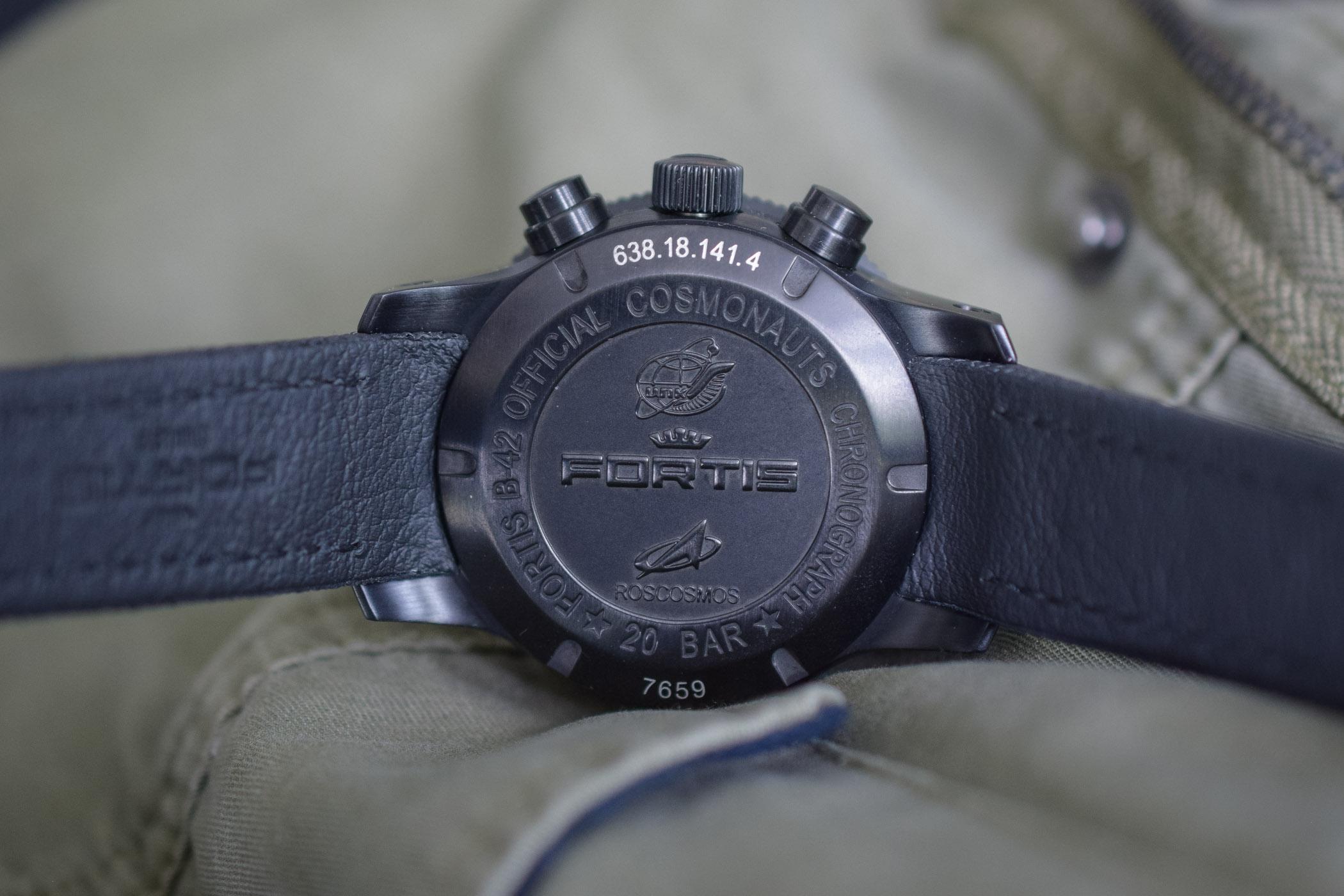 Fortis Aeromaster Mission Timer Chronograph