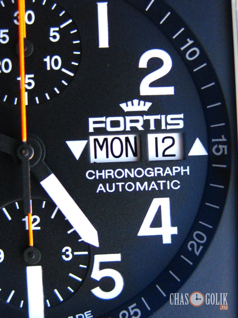 Fortis Square Chronograph
